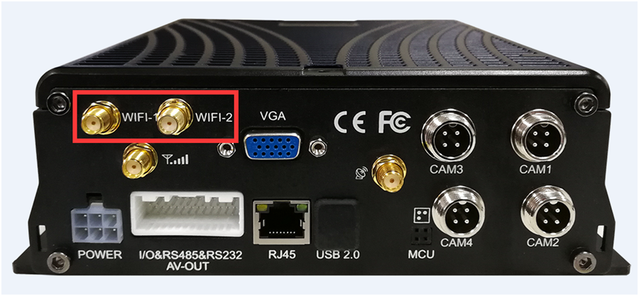WiFi functionality of ICARVISIONS MDVR : benefits and settings Picture1