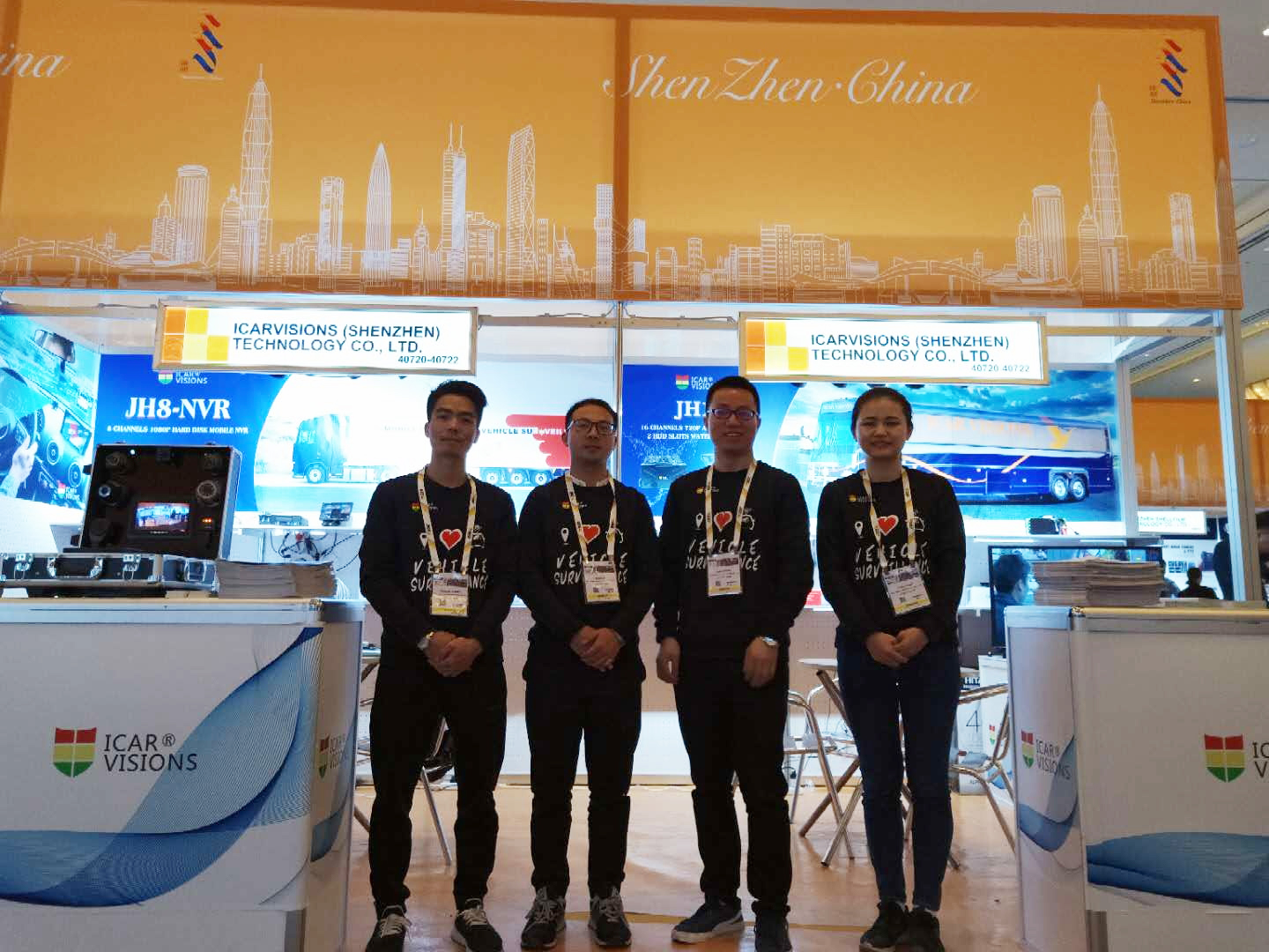 Thank you for visiting Our Booth at ISCW 2019 in Las Vegas! Picture1