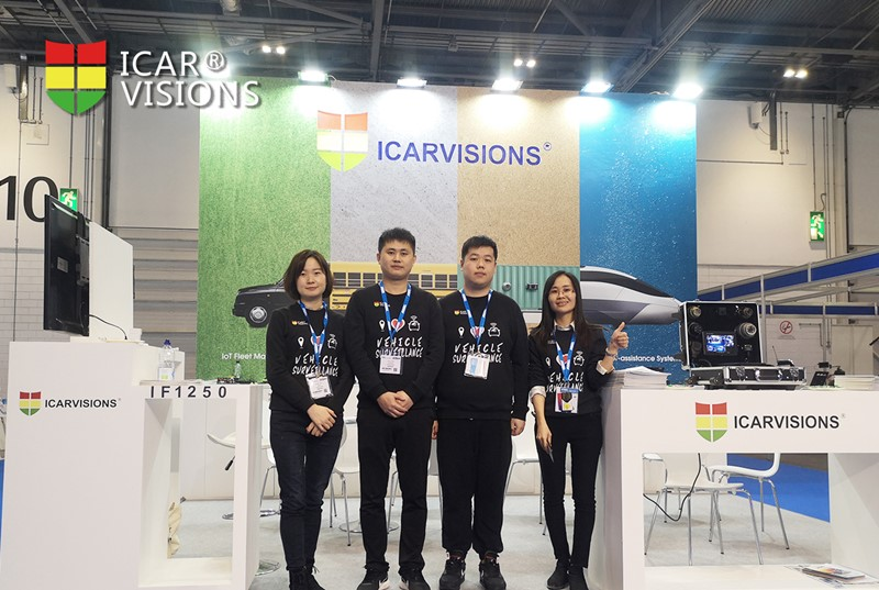 IFSEC MOBILE DVR NVR VEHICLE MDVR ICARVISIONS 2019 Picture1