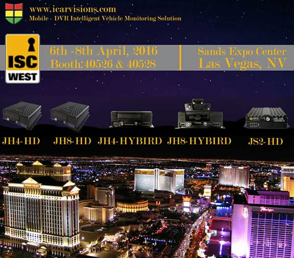 You Are Invited to Attend ISC West 2016 in Las Vegas USA! Picture1