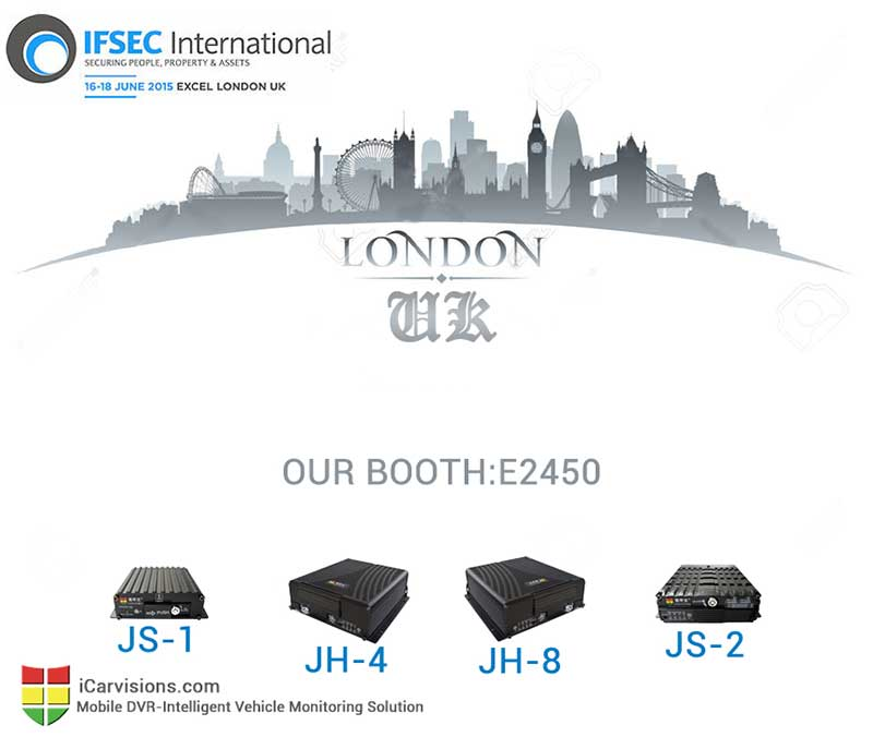 You Are Invited to Attend IFSEC 2015 in London UK Picture1