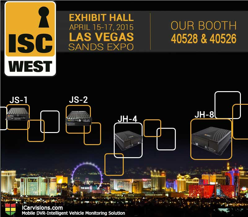 You Are Invited to Attend ISC West 2015 in Las Vegas USA! Picture1