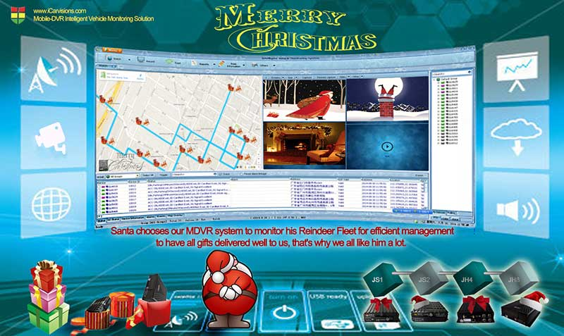 Santa chooses MDVR to monitor his Reindeer Fleet Picture1