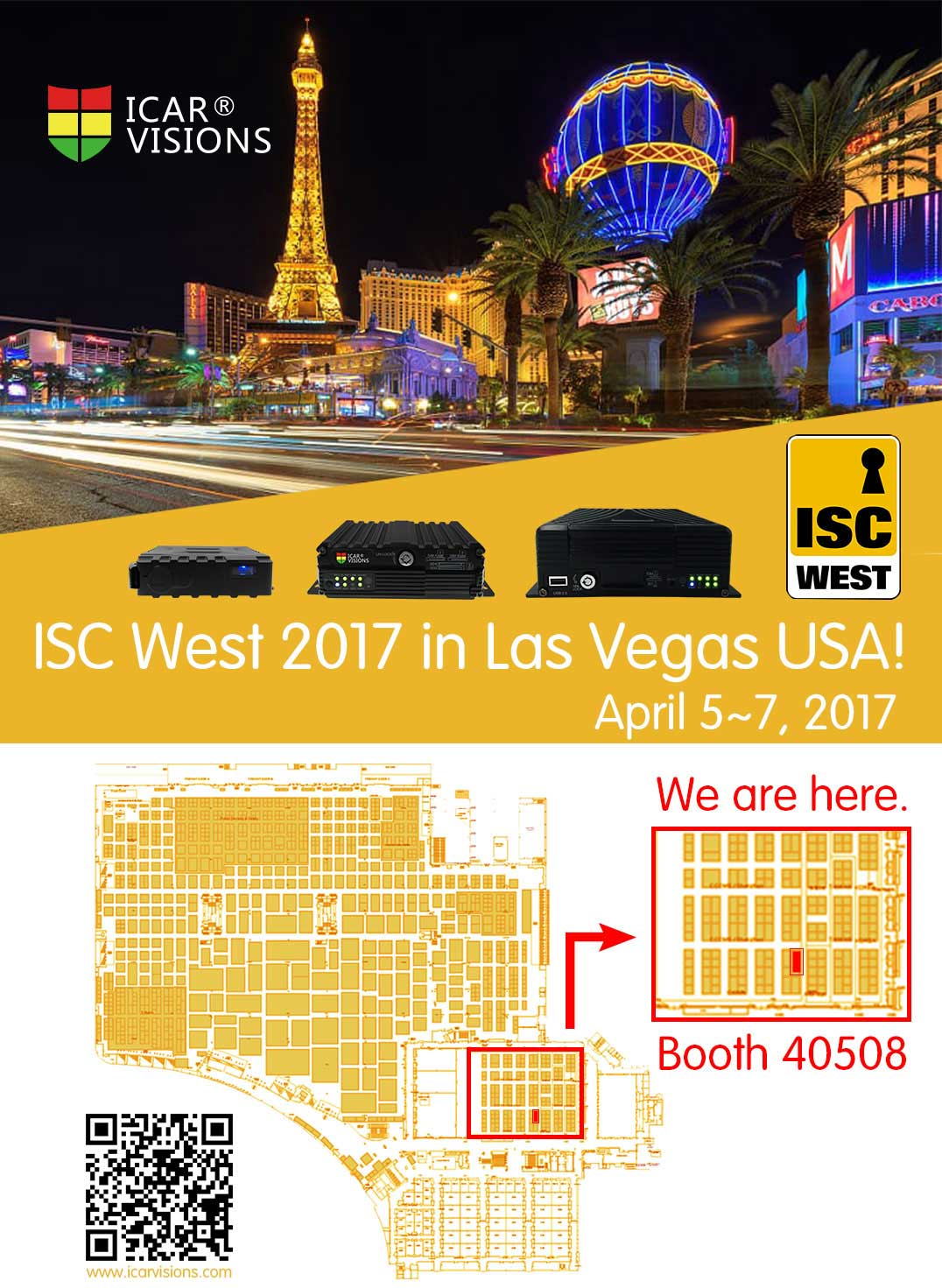 ISC West 2017 in Las Vegas USA! Picture1