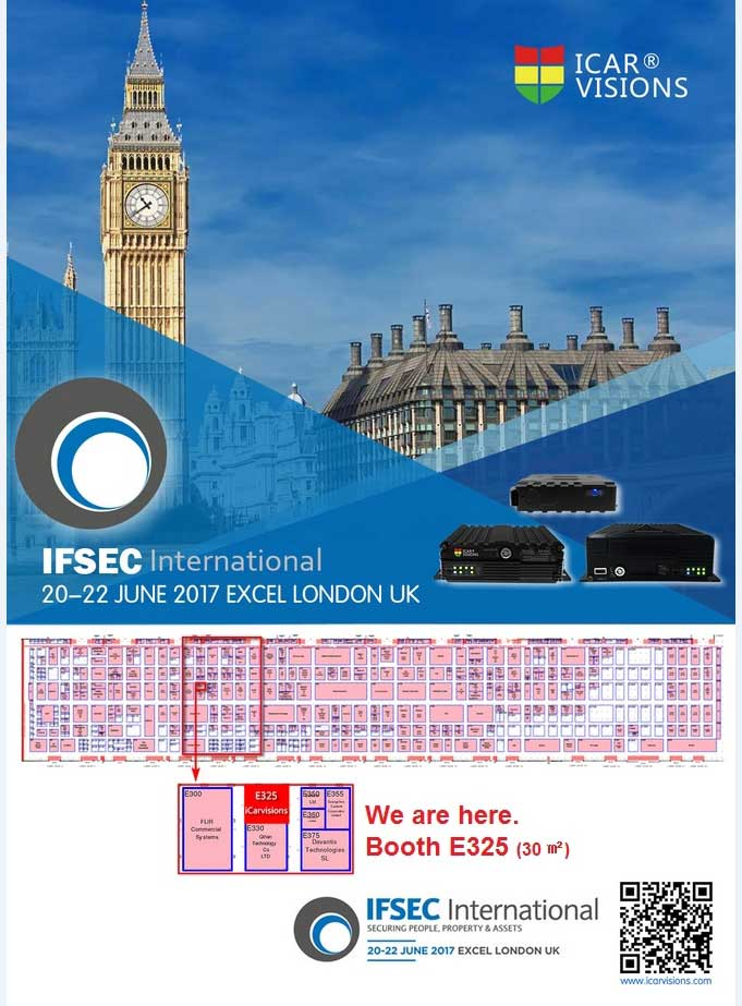 IFSEC 2017 in London Picture1