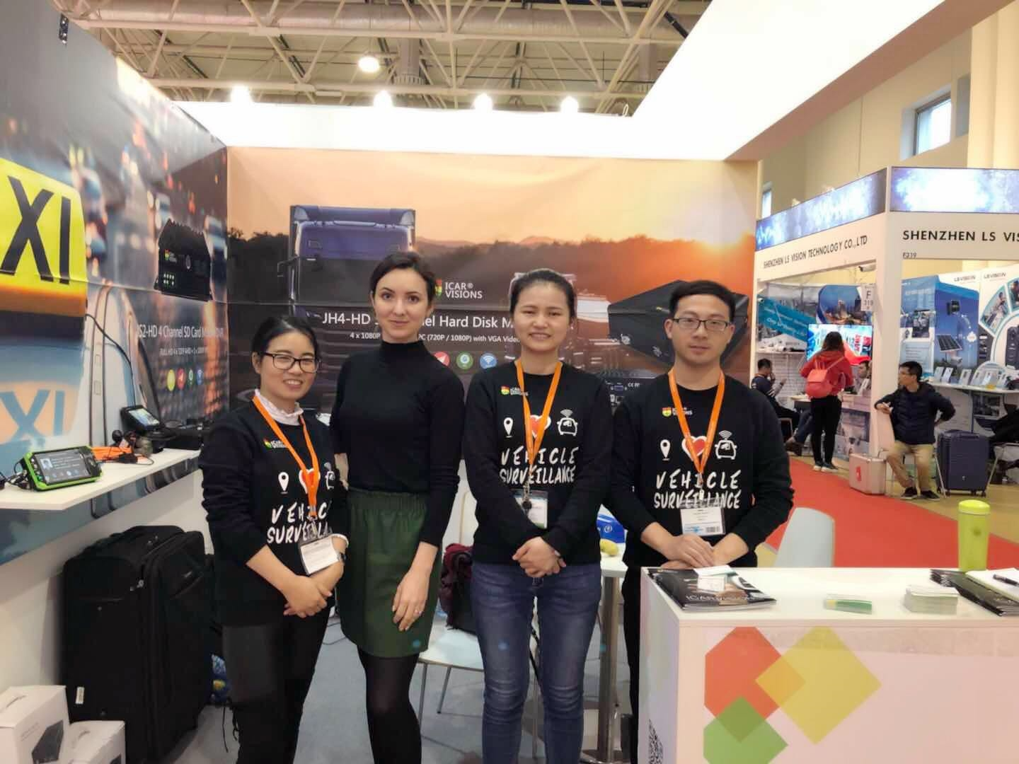 Thank you for visiting Our Booth at Securika 2018 in Moscow! Picture1