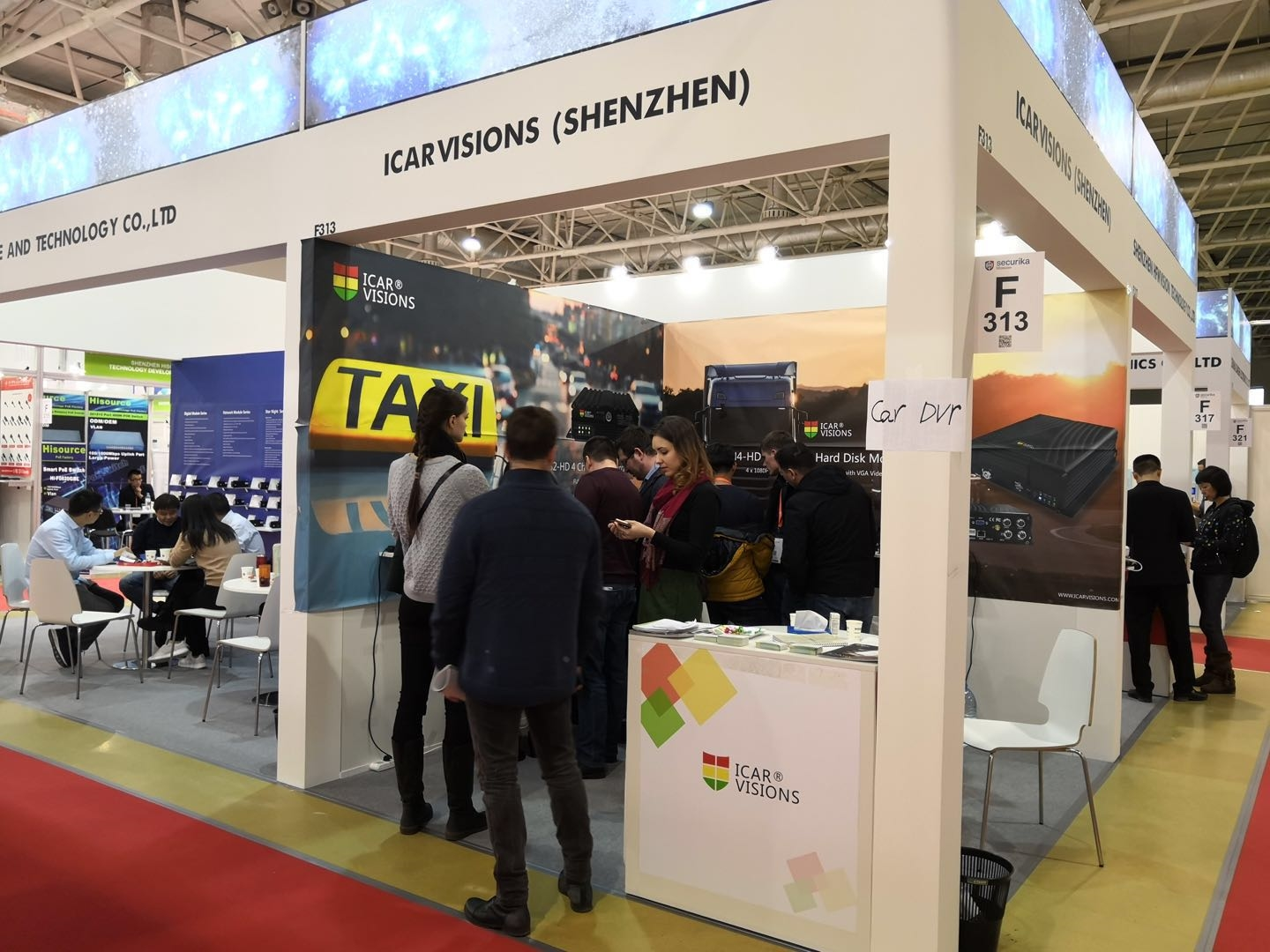 Thank you for visiting Our Booth at Securika 2018 in Moscow! Picture3