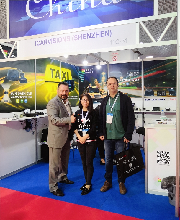 Thank you for visiting our Booth at ISAF 2018 in Istanbul! Picture2