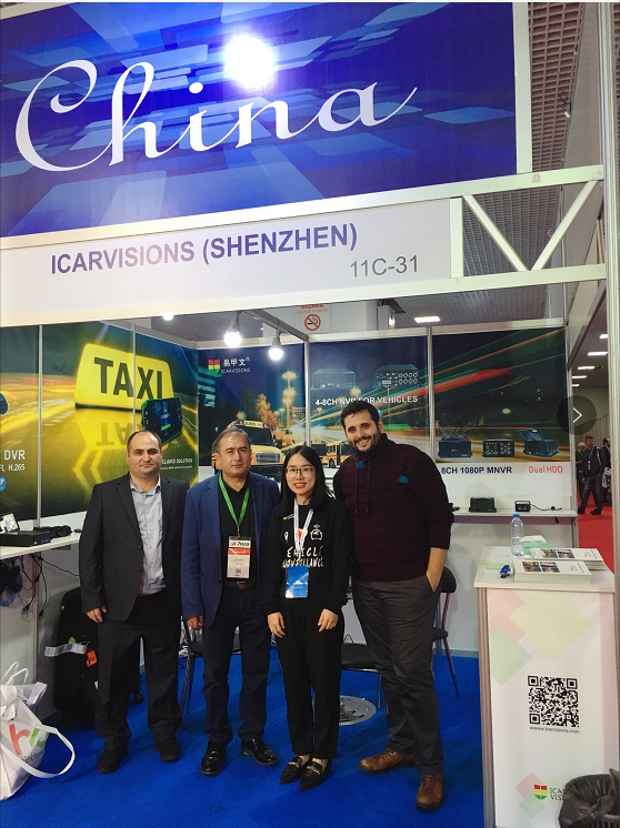 Thank you for visiting our Booth at ISAF 2018 in Istanbul! Picture3