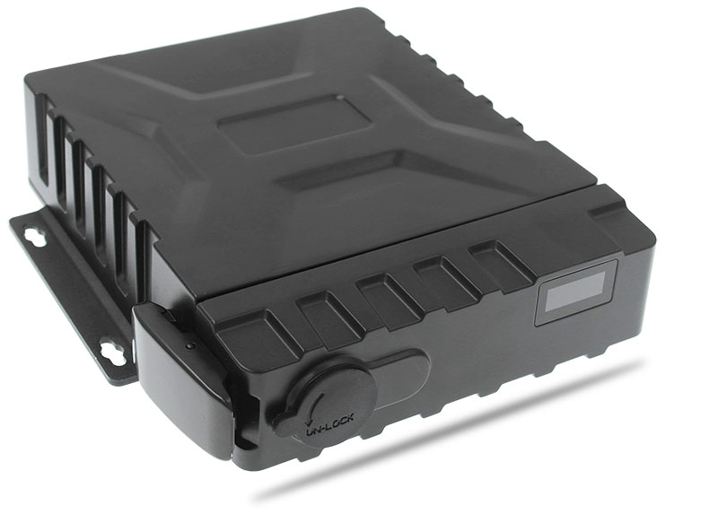 4 channel Ip67 3G vehicle Mobile DVR Picture1