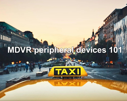 MOBILE DVR VEHICLE MDVR peripheral devices 101