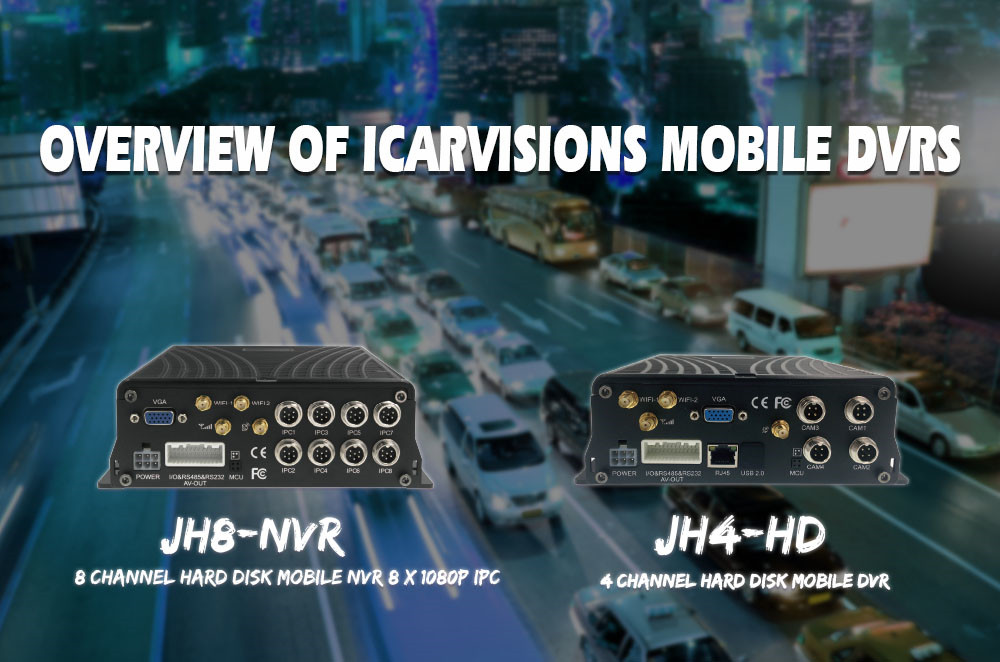 Overview of ICARVISIONS mobile DVRs Picture1