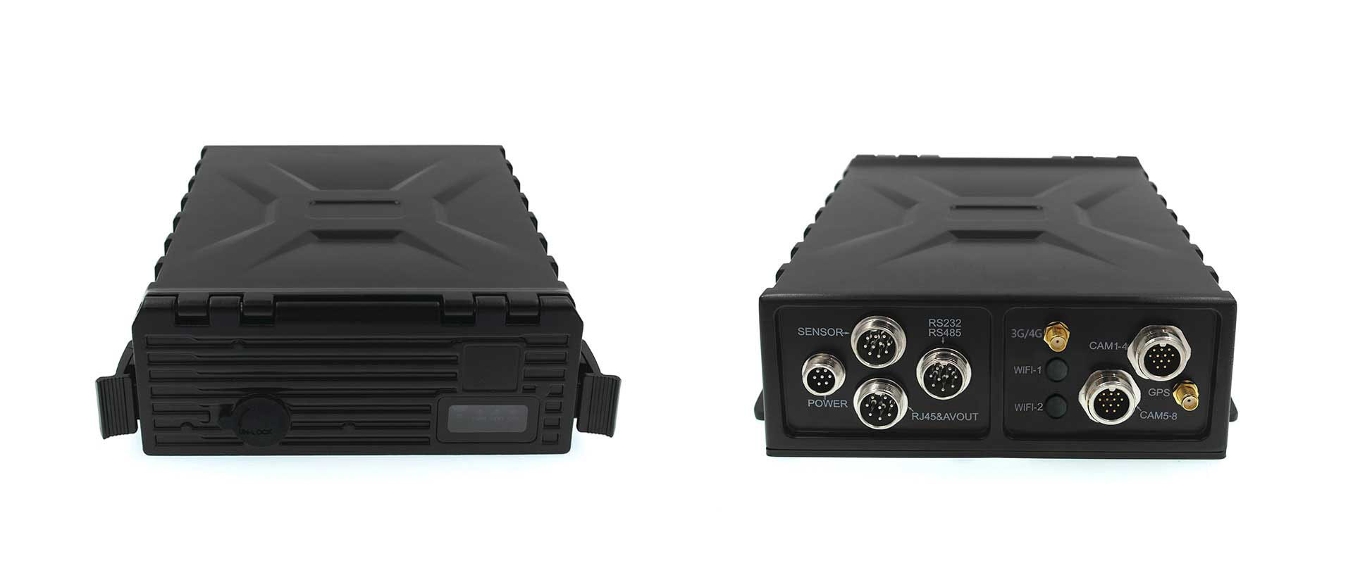 2T HDD Storage 8 ch 1080P HD Mdvr Ip67 4G GPS mobile dvr for bus with gps tracking JH6S-8HD-GFN Picture2