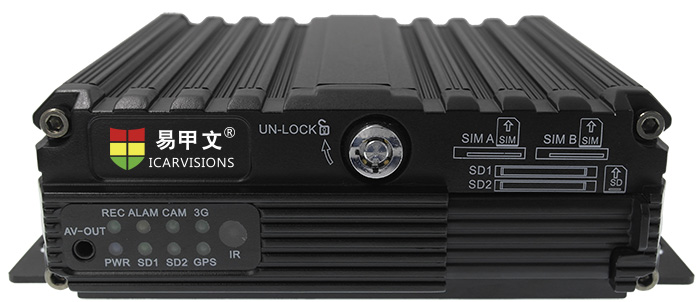 4ch AHD Mobile DVR with GPS WiFi online fleet management Picture1