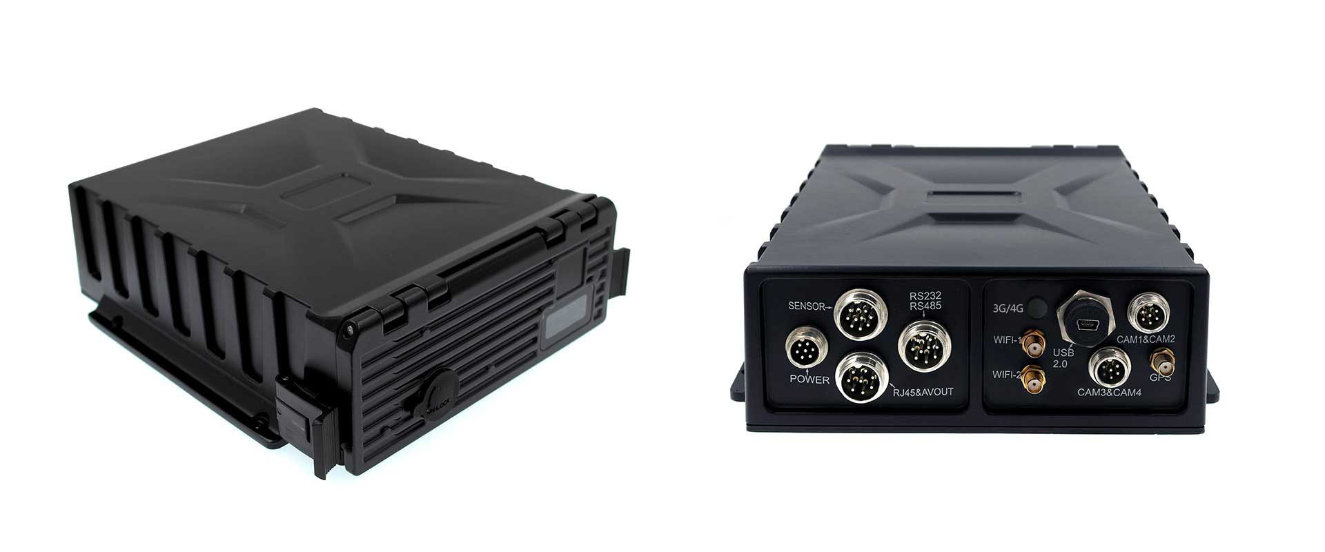 vehicle Mdvr Ip67 1080P HD high quality 4 channel Mobile Dvr with GPS WiFi JH6S-4HD-GNW Picture2