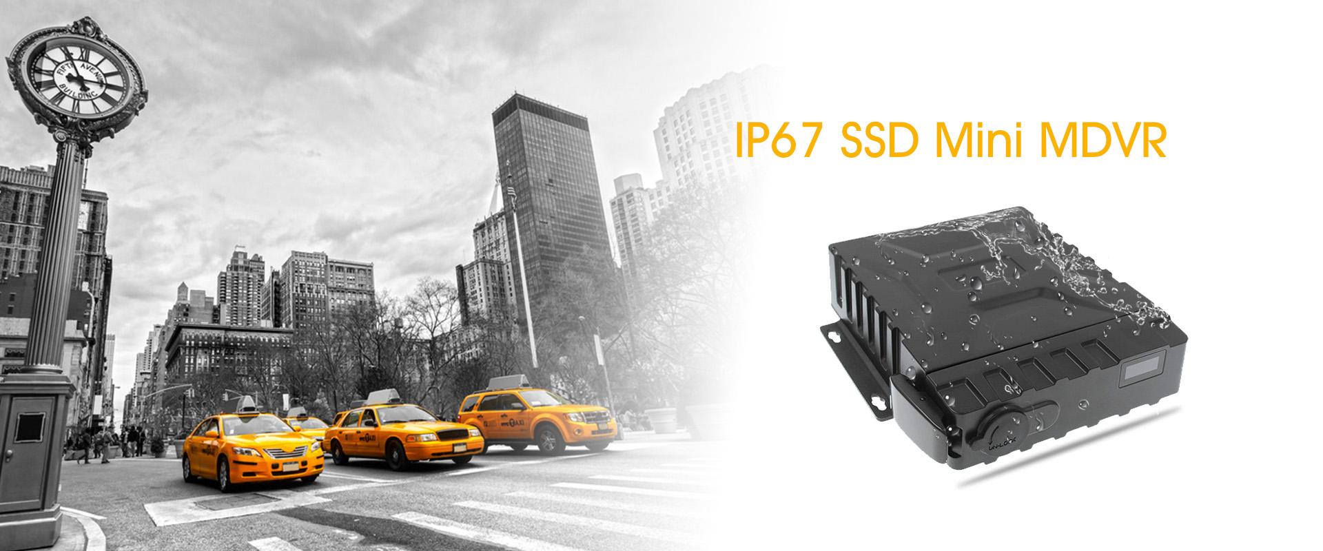 IP67 SSD Mini MDVR