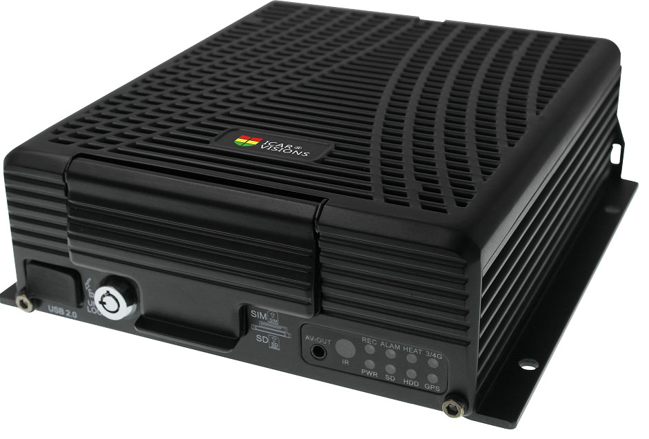 9 channel 3G Mobile DVR with Vehicle monitoring