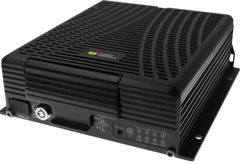 1080P HDD Mobile NVR for car tracking Picture1