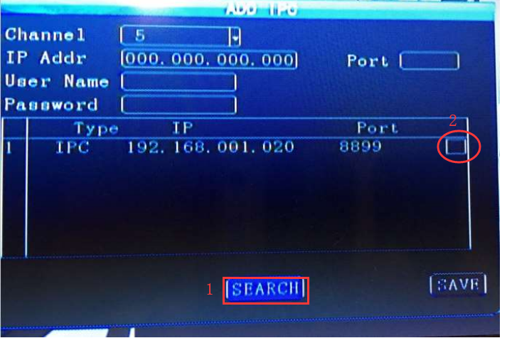 How to add IP camera MDVR Picture3