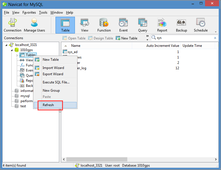 How to restore the default password of database Picture5