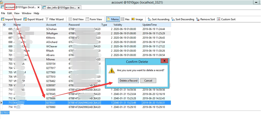 How to solve duplicate device ID on IVMS old server Picture5