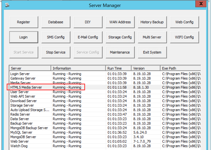 How to solve HTML5 Media Server run failed Picture7