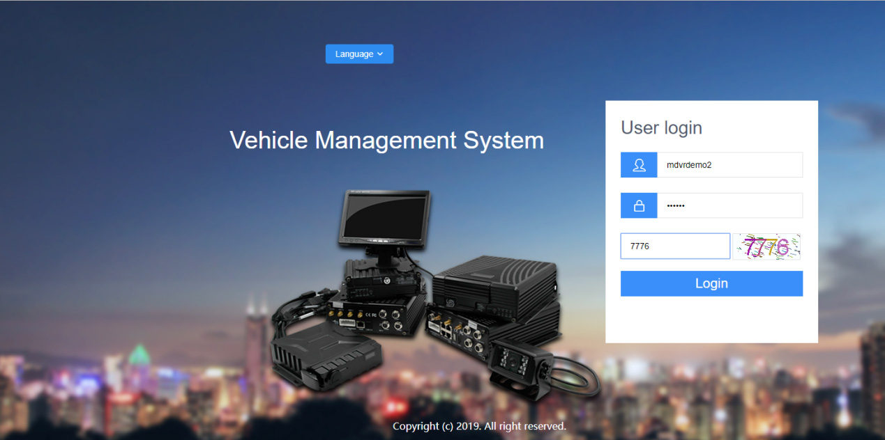Introducing our new Web Fleet management Picture1