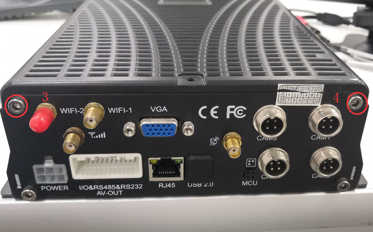 How to replace the 4G module on MDVR Picture2