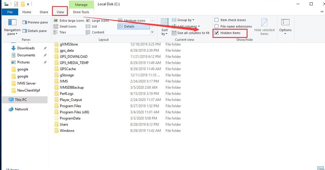 How to solve the IVMS Client can not open problem Picture2