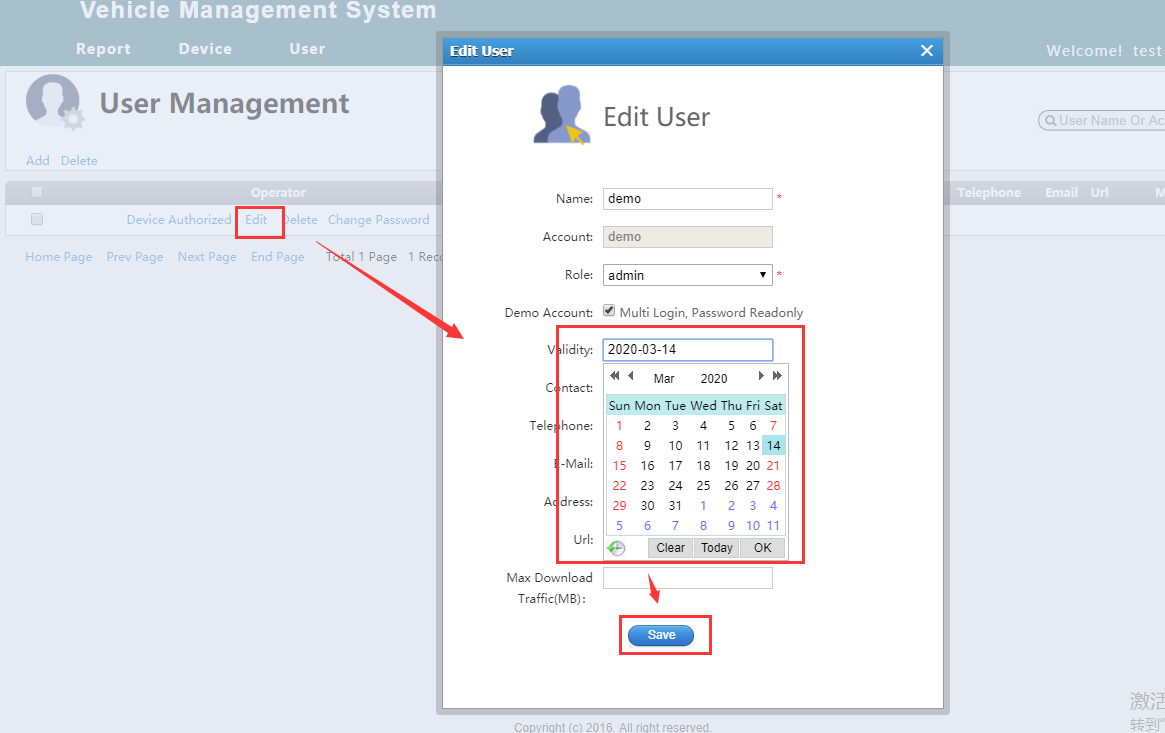 How to solve the IVMS Client show account overdue at login page Picture3