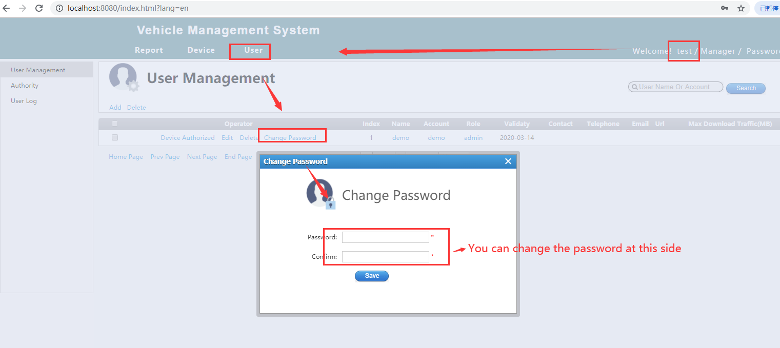 How to restore the IVMS Client account default password Picture2
