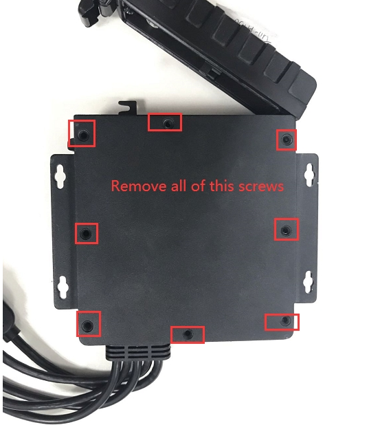 How to remove the enclosure of MDVR Picture3