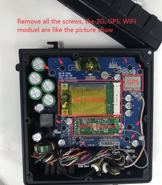 How to remove the enclosure of MDVR Picture4