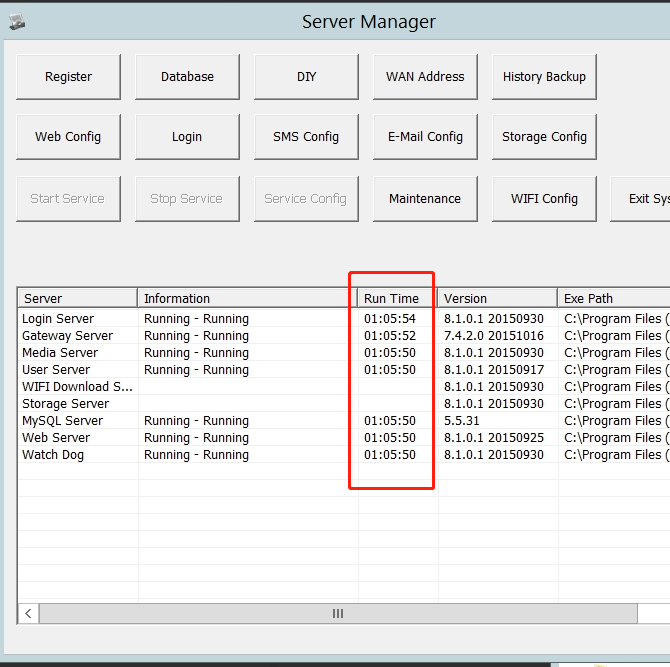 How to solve gateway and Media Server stop occasionally  issue Picture3