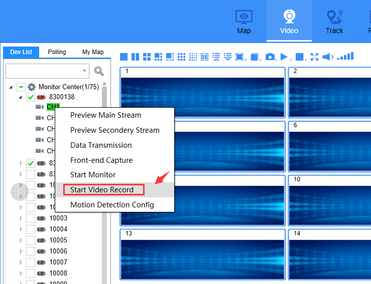 How to generate grec file from IVMS Client side Picture4