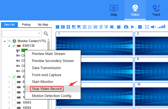How to generate grec file from IVMS Client side Picture6