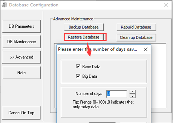 How to restore the basic data of mysql Picture3