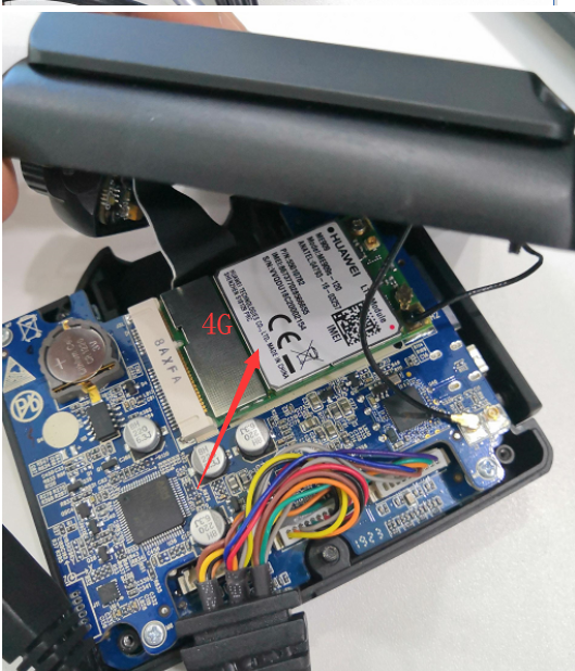 How to disassemble the JI3 and check 4G module Picture6