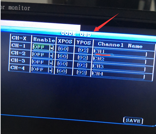 How to add channel name the realtime video Picture3