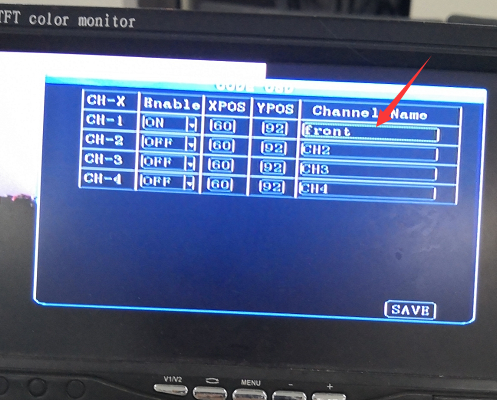 How to add channel name the realtime video Picture4