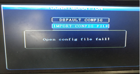 Each error about importing / exporting parameter file Picture3