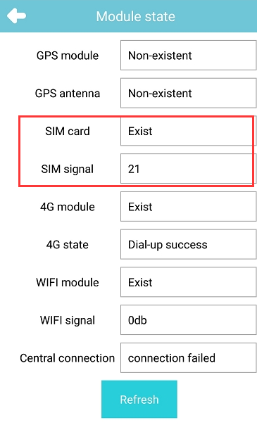 How to check if JI3 can not find SIM card Picture2