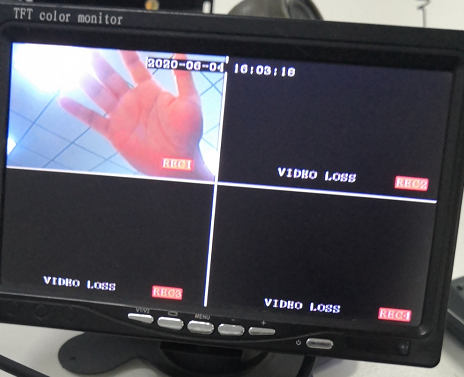 How to test Motion detection alarm on the MDVR Picture7