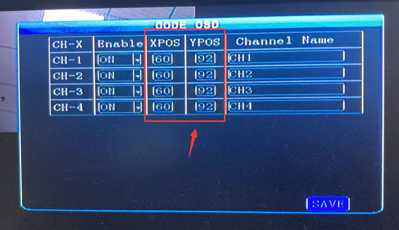 How to set the channel name OSD Picture5