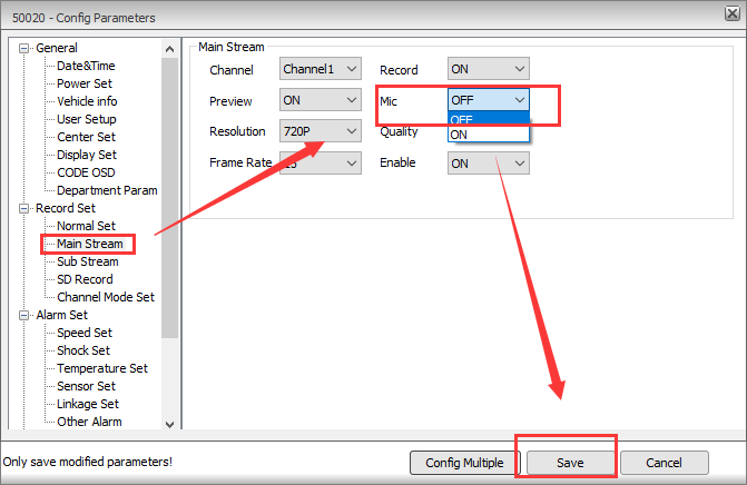 How to switch the camera audio/mic off via IVMS Client side Picture2