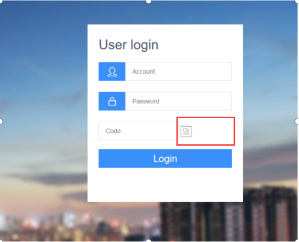 How to solve the Web Verification Code cannot be displayed Picture1