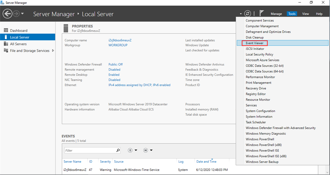 How to use Event Viewer check errors from system or application Picture3