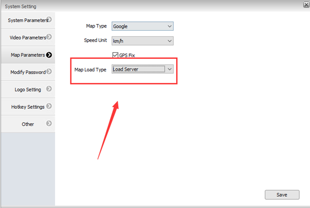How to add postcode search function IVMS Client side Picture1
