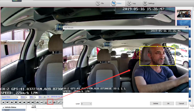 How to create mosaic videos with MDVRPlayer Picture3