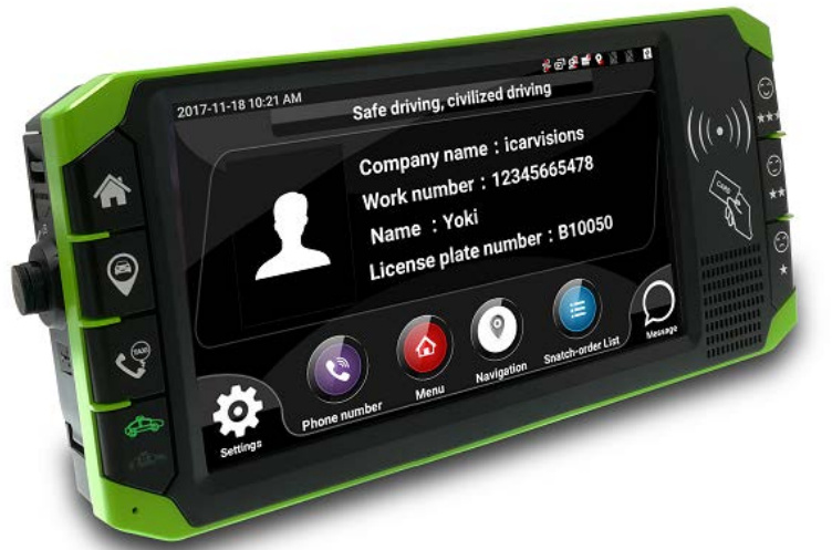 The 3rd Gen Smart Touch Screen Mobile DVR JT1 Picture1